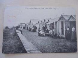 CARTE POSTALE QUINEVILLE LES VISITES APRES LE DEJEUNER - Autres Communes