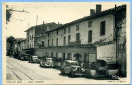 CPA - Note D'hôtel (rare) / Ain 01 Poncin Hôtel Sibuet, Automobiles Citroën Renault - France