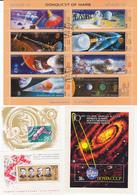 Petite Thematique De 26 Blocs / Feuillet Sur L'espace - Space