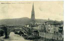 12 - SAINT AFRIQUE - Le Pont Romain Et Le Clocher. - Saint Affrique