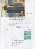 LETTRE AVEC CORRESPONDANCE. FULL LETTER. MAURITIUS CENTRE PERE LAVAL PORT LOUIS - Maurice (1968-...)