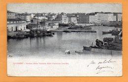 Livorno Italy 1900 Postcard - Livorno