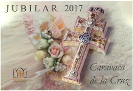 CARAVACA DE LA CRUZ (MURCIA). JUBILAR 2017. TARJETA PREFRANQUEADA ESPAÑA. TARIFA A. ENTERO POSTAL.Postcard Paid Postage. - Entiers Postaux