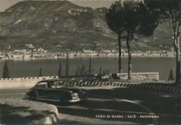 2b.295.  Lago Di Garda - SALÒ - Panorama - 1959 - Auto D'epoca - Altre Città