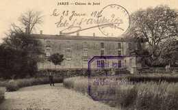 CARTE JARZE LE CHATEAU HOPITAL TEMPORAIRE  CAPORAL 8 éme DE LIGNE - France