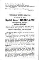 Maldegem, Cyriel Dobbelaere, Dhont - Devotion Images