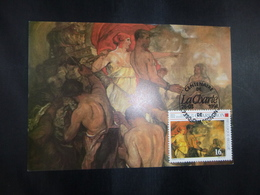 "BELG.1994 2549 FDC Maxicard : "" Handvest Van Quaregnon /Charte De Quaregnon "" - FDC"