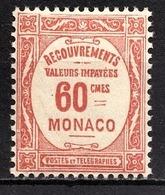 MONACO 1924 / 1932 N° 16 -  Timbre Taxe NEUF** - Impuesto