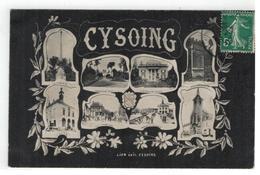 CYSOING  Multiview  1907 - Autres Communes