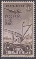 Italia Colonie Africa Orientale Italiana Aerea 1938 SaN°A13 MNH/* Vedere Scansione - Afrique Orientale Italienne