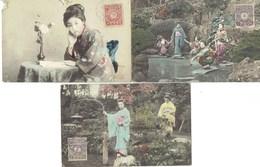 JAPON LOT 3 CARTES - Japon