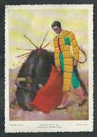 Corrida Carte Fantaisie Avec Costume Brodée - Stierkampf