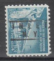 USA Precancel Vorausentwertung Preo, Locals New York, Inlet 801 - Vereinigte Staaten