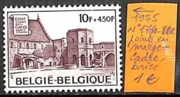 [837107]TB//**/Mnh-Belgique 1975 - N° 1760-VAR, Points En Marge + Cadre Brisé, Abbaye(S) - Nuovi