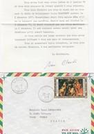 LETTRE AVEC CORRESPONDANCE. CAMEROUN. EVECHE DE YAOUGA - Cameroun (1960-...)