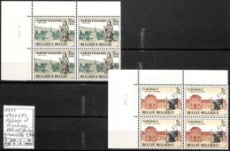 [842346]TB//**/Mnh-Belgique 1971 - N° 1571/72, Abbaye Et Béguinage, Bd4, Cdf Datés, Gomme Sèche - Nuovi