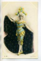 ARTISTE 0708 Jeune Femme Armlequin Et Sa Riche Cape Série No 629 Th 33    Photog WALERY - Artistes