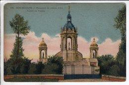 Cpa Bon Secours Monument De Jeanne D Arc Facade Du Plateau - Bonsecours