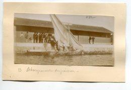 PHOTOGRAPHIE 0083 STORA Pres PHILIPPEVILLE SKIKDA Pecheurs Sardiniers Port Débarquement Poissons  PECHE - Algérie