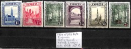 [846998]TB//*/Mh-c:65e-Belgique 1929 - N° 292G/H, Express, SC + Surcharge */mh Propre - Unused Stamps