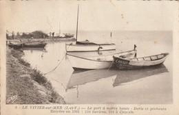 Le VIVIER Sur MER Le Port A Marée Haute (dentelée) - France