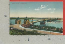 CARTOLINA NV GERMANIA - MAINZ - Strassenbrucke - 9 X 14 - Mainz