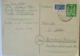 Nieblum Auf Föhr, Karte 1951 Aus Dem Schullandheim Bei Wyk Auf Föhr (14465) - BRD