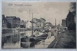 CPA MARCHIENNE AU PONT Région Charleroi LaSambre Canal Péniche Binnensheepvaart Barge - Charleroi