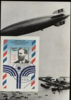 3. Reich - Foto Repro Zeppelin über Helgoland: Gebraucht Mit Sonderstempel Helgoland 1991 - Duitsland
