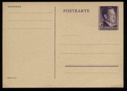3. Reich - GG Polen GS Postkarte Adolf Hitler : Ungebraucht. - Duitsland