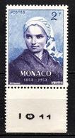 MONACO 1958 -  N° 493 - NEUF ** - Unused Stamps