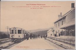 LA CABANASSE Près Mont-Louis Pyrénées-Orientales La Ligne Electrique De La Cerdagne Le Départ Du Train Gare Labouche 700 - France
