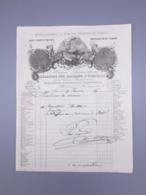 PARIS  FABRIQUE D'EVENTAILS MAISON DESROCHERS, 1864 - France