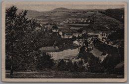 Sankt Joachimsthal Jachymov - S/w Ortstansicht 1   Radiumbad Mit Stempel Reservelazarett - Sudeten