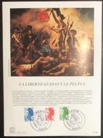France - Document Philatélique - Premier Jour - FDC - YT N° 2219 à 2221 - Croix Rouge - 1982 - Croix-Rouge