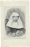Doodsprentje VERHELST Felicita Perpetua: ° Moerzeke, 1824 Aldaar Overleden 24 Maart 1869 Begijntje - Religión & Esoterismo