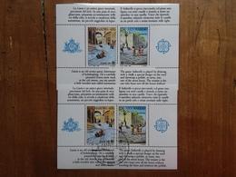 SAN MARINO - Europa 1989 - BF Nuovo + BF Timbrato + Spese Postali - Blocchi & Foglietti