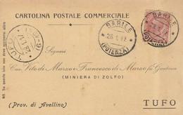 Barile. 1917. Annullo Guller BARILE (POTENZA) , Su Cartolina Postale. - 1900-44 Vittorio Emanuele III