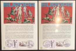 France - Document Philatélique - Premier Jour - FDC - YT N° 1789 à 1790 - Europa - 1974 - Europa-CEPT