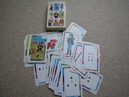 Jeu De Cartes - Multi Pass - Fondation Charcot Stichting.HEROS BD BELGE Tintin Smurf Natacha Yoko Tsuno Lucky Luke - Playing Cards (classic)
