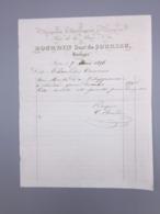 PARIS, BOURDIN, MAGASIN D'HORLOGERIE ET BRONZES, 1856 - France