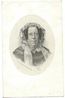 Doodsprentje DE LOOSE Theresia-Maria: ° Gent, 1804 Aldaar Overleden 1878. Wed. Félix De LIMON De STEENBRUGGHE - Religión & Esoterismo