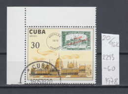 """96K120 / 1978 - Michel Nr. 2293 Used ( O ) The Air """"Socifilex"""" Stamp Exhibition, Budapest Stamps On Stamps , Cuba Kuba - Used Stamps"""