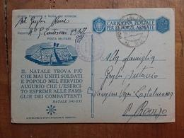 REGNO - Cartolina Postale In Franchigia - Provenienza P.M. 221 + Spese Postali - 1900-44 Vittorio Emanuele III
