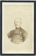 Doodsprentje VAN BAVEGEM Jan Baptista: ° Baasrode, 1801, + Beveren,1877. Zoon Van Petrus Josephus En Maria Anna WILLOCKX - Religión & Esoterismo