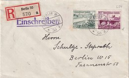 ALLEMAGNE 1937 LETTRE RECOMMANDEE DE BERLIN - Germany