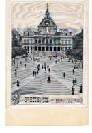 CPA  Saint Etienne (42) Hôtel De Ville CPA Imprimée Sur Du Tissu - Saint Etienne