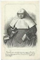Doodsprentje VAN QUICKENBORNE Francisca: ° Gent, 1786 Aldaar Overleden 1857. Begijntje - Religión & Esoterismo
