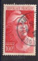 FRANCE N°733  OBLITERE 20% De La Cote Y&T 7.65 € - Used Stamps