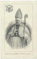 Doodsprentje DELEBECQUE Ludovicus-Josephus: + Gent, 2 Oktober 1864. XXIe Bisschop Van Gent - Religión & Esoterismo